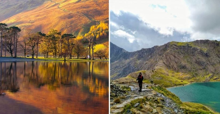 أجمل المنتزهات الوطنية في بريطانيا