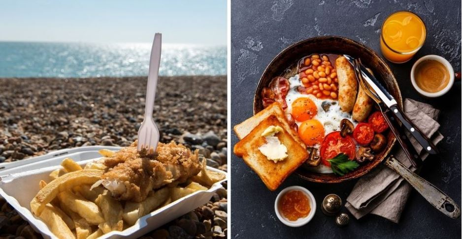 الأطباق الأكثر شعبية في بريطانيا