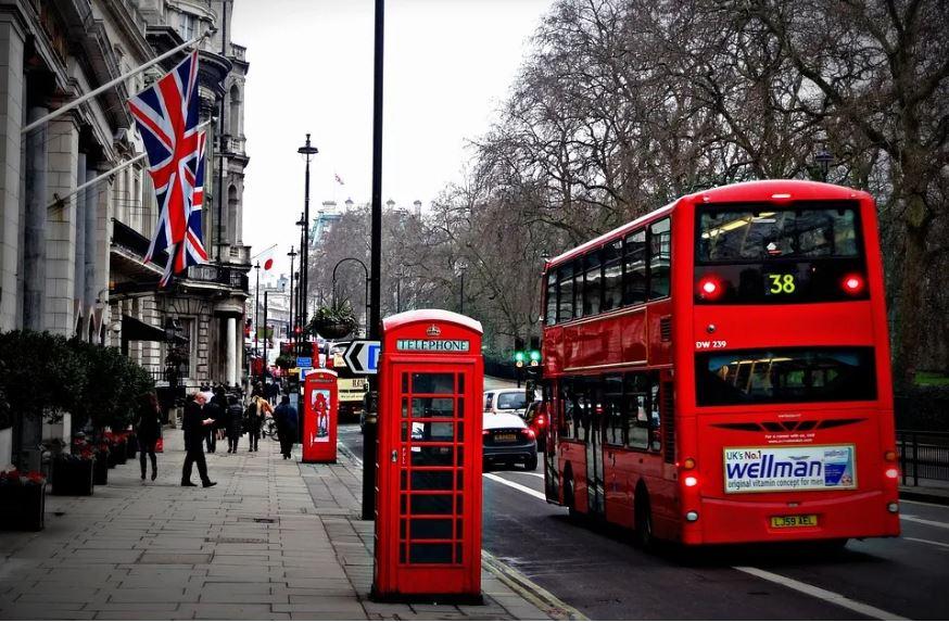 العيش في لندن