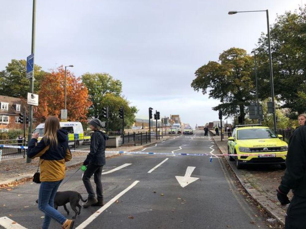 صور مكان الحادث