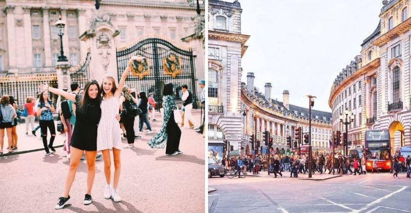 عطلة نهاية الأسبوع في لندن