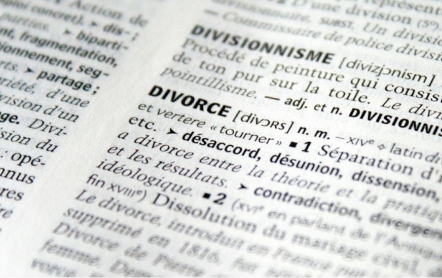 الطلاق في بريطانيا