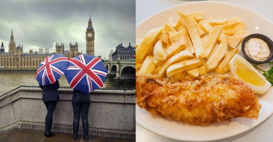 أول زيارة لبريطانيا