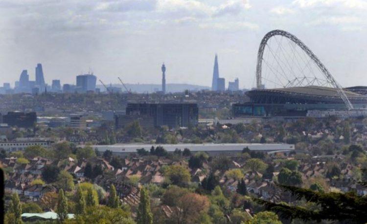 جانب من ضواحي لندن